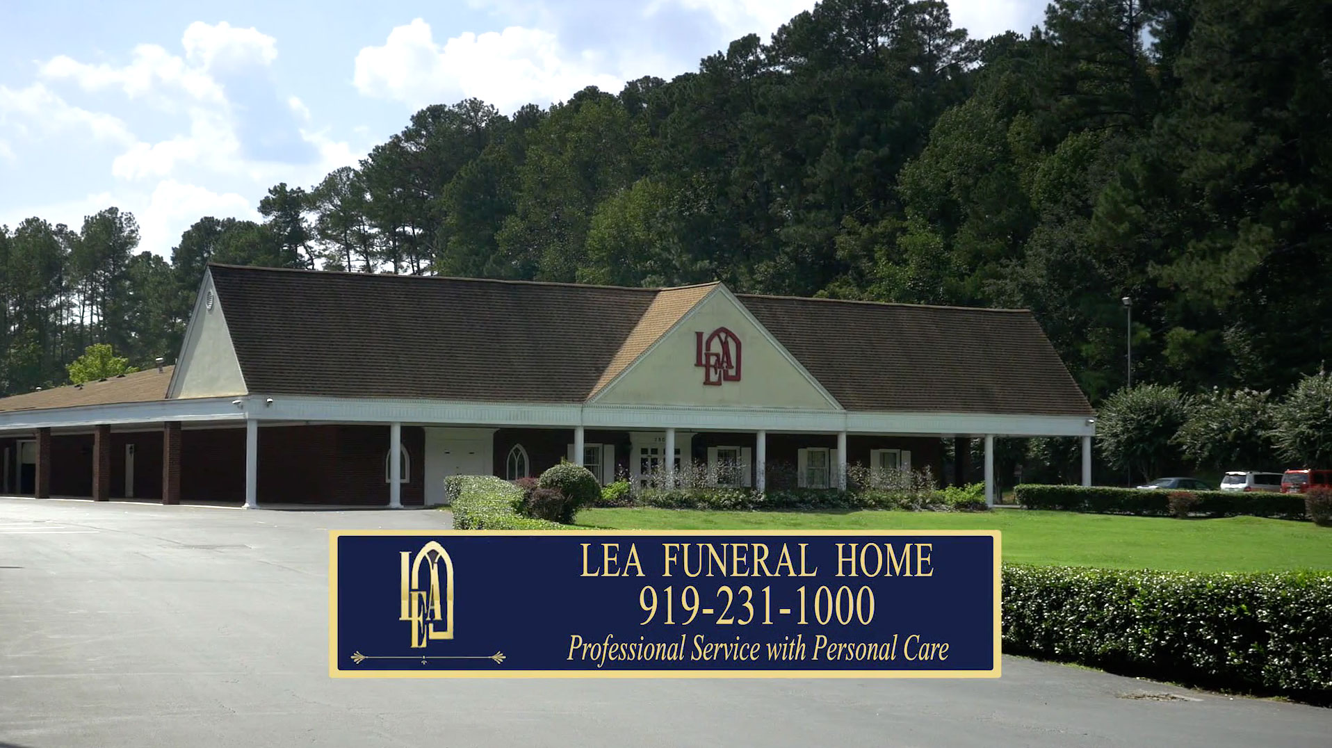 Lea Funeral Home | Raleigh NC funeral home and cremation